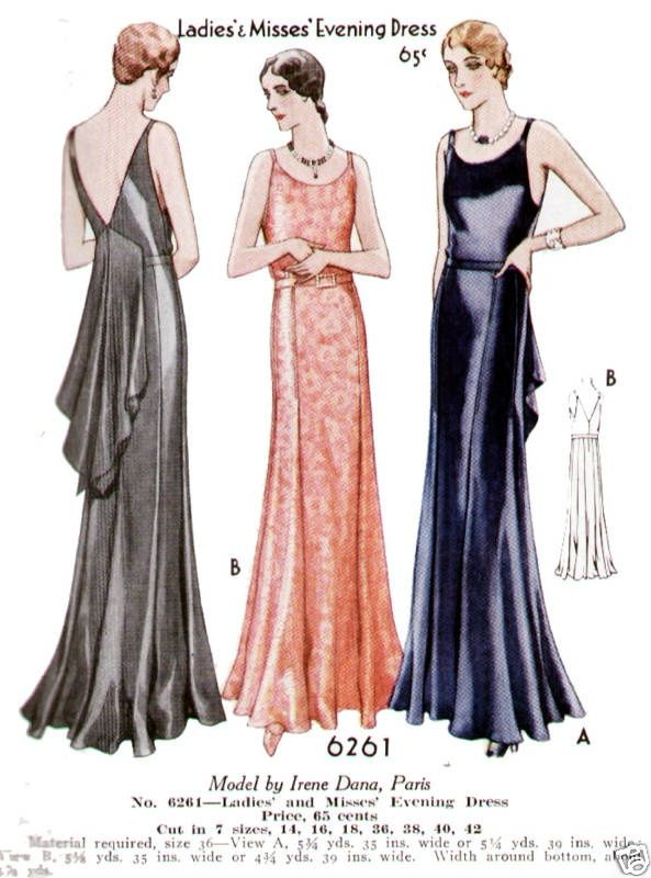 1920s Ball Gowns
