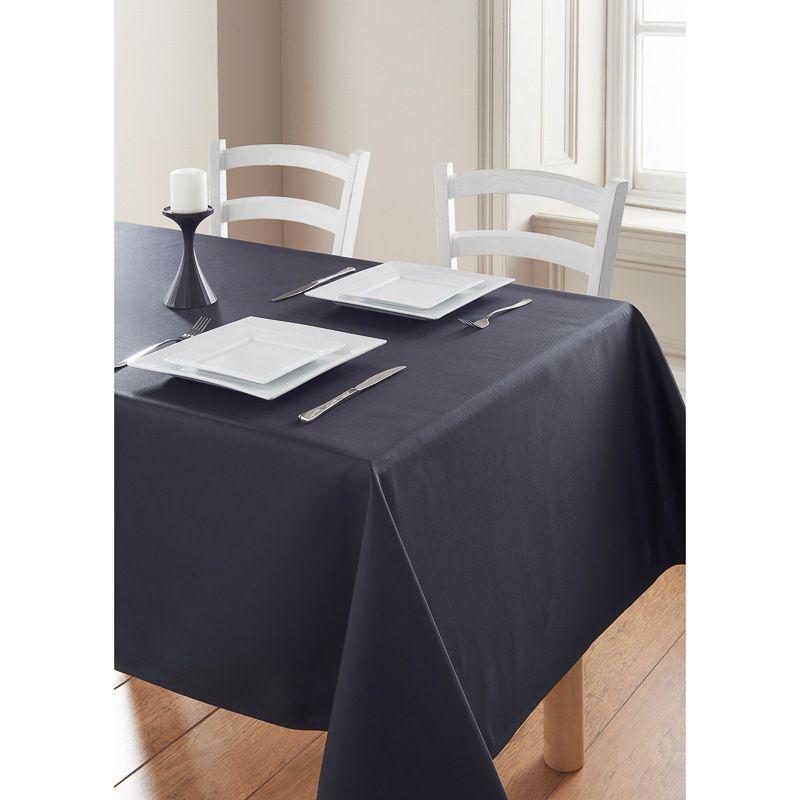 Essentials Tablecloth   Black