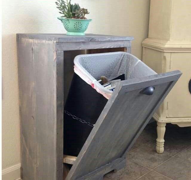 Voorkeur Ombouw prullenbak | huis ideeen - Diy kitchen, DIY Furniture en MM63