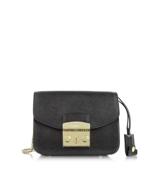 de0b6f5c64a Buy Furla Women s Black Metropolis Mini Crossbody Bag, starting at Similar  products also available.