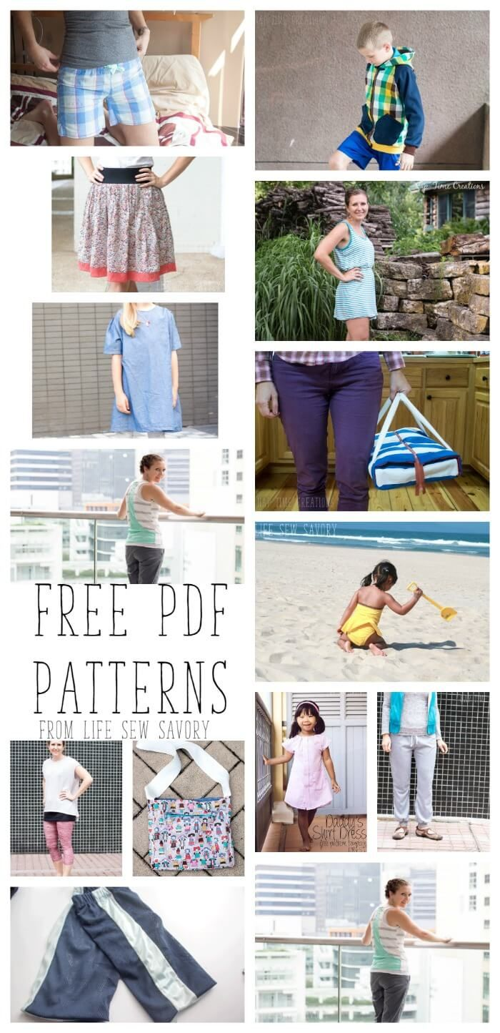 Free PDF Patterns | Sewing other | Pinterest | Costura, Patrones y Coser