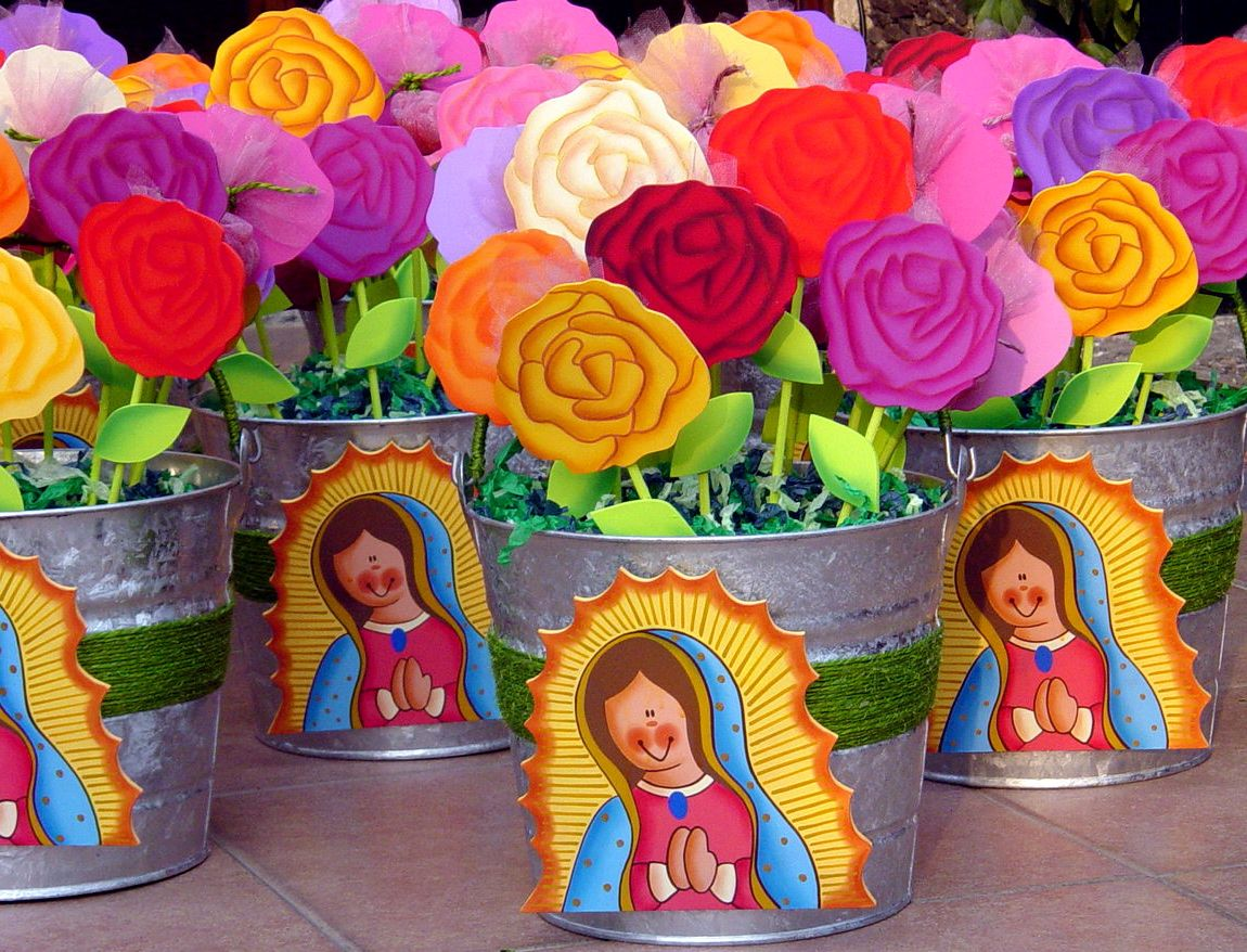 Primera comunion virgen de guadalupe events - Decoracion comunion original ...