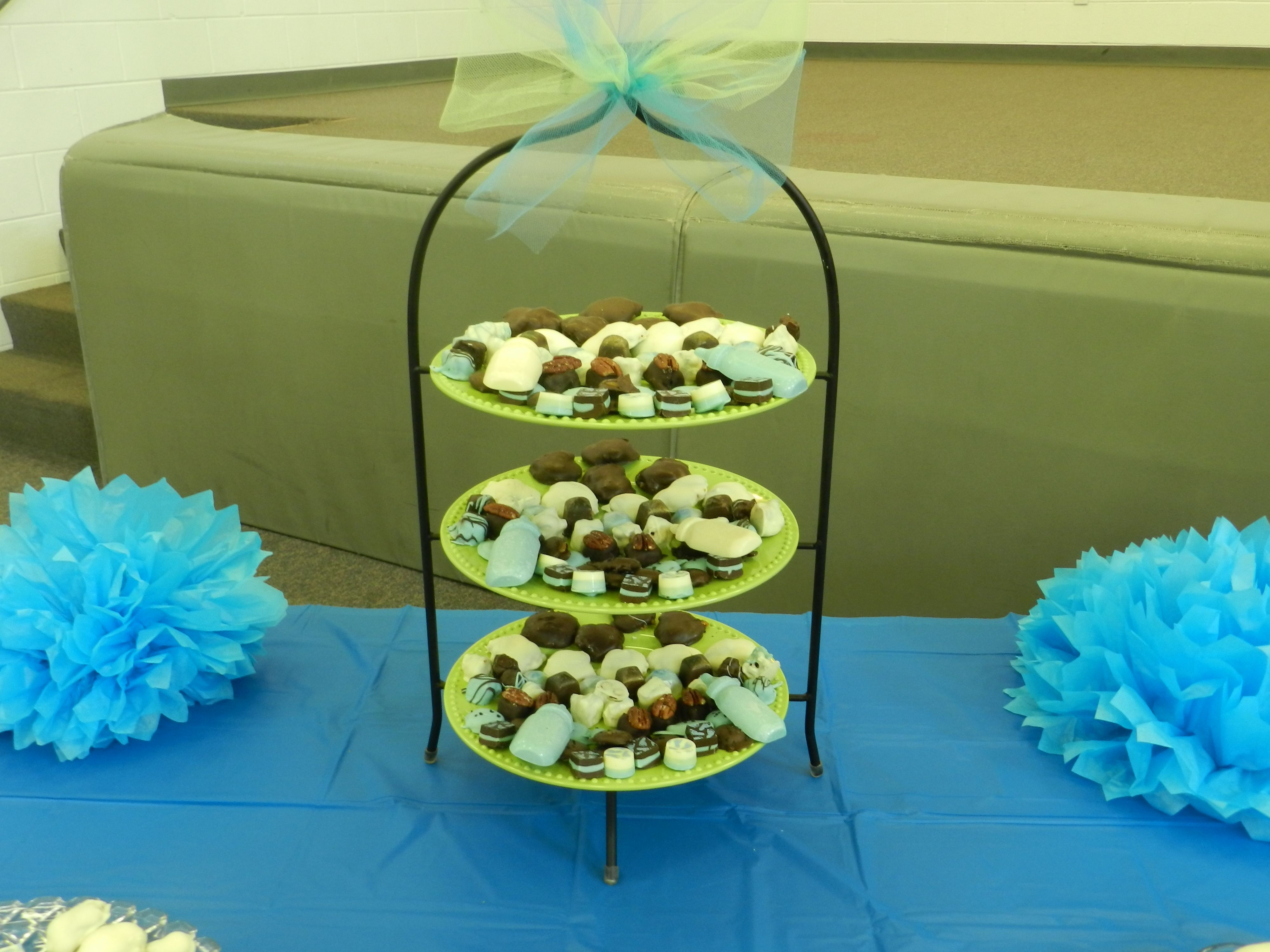 Baby Shower Boy Candy Table Melanies Country Confections