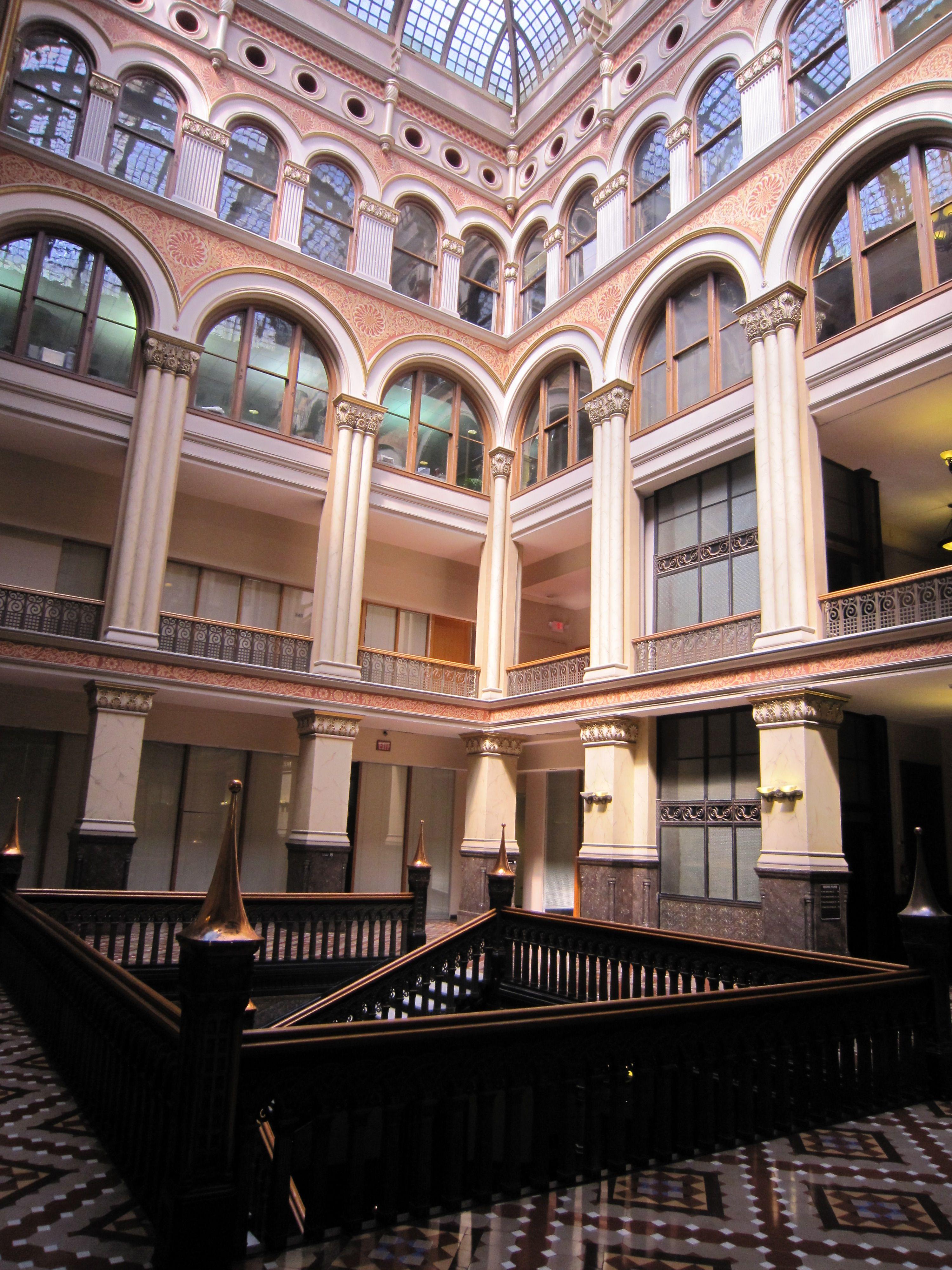 The Hilton Garden Inn Milwaukee Downtown is located within