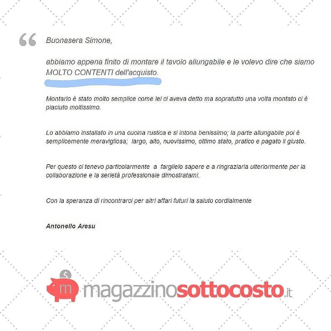 #recensioni #testimonianze #clienti #mobili #Sardegna #arredamento #tavolo #cucina