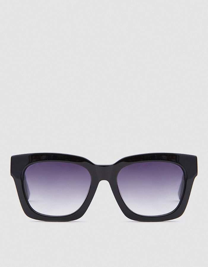 1d9e955e1928 Ganni Alice Shades in Black #sunglasses #eye #black #classic #shopstyle