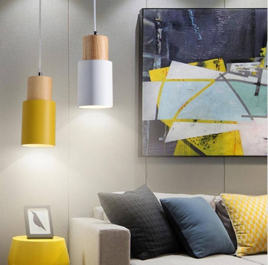 Nordic Colorful Pendant Light