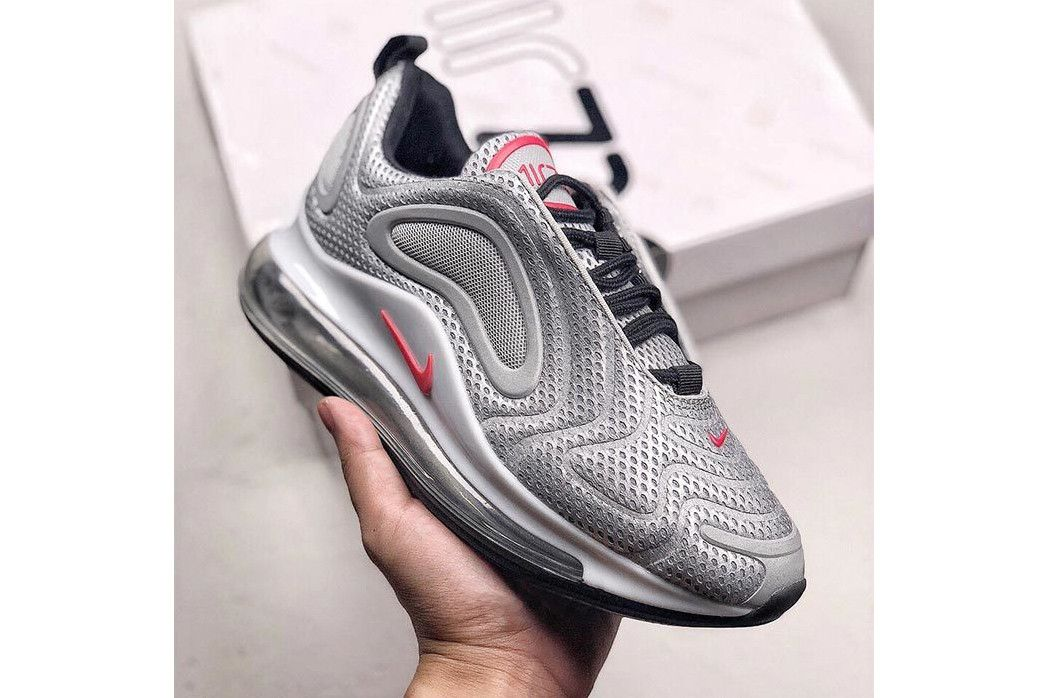 competitive price d65c0 dfd62 Nike Air Max 720 Silver Bullet Teaser Rumor Sneaker Details Cop Purchase Buy  Shoes Trainers Kicks Sneakers 97 Red Black Early Cop