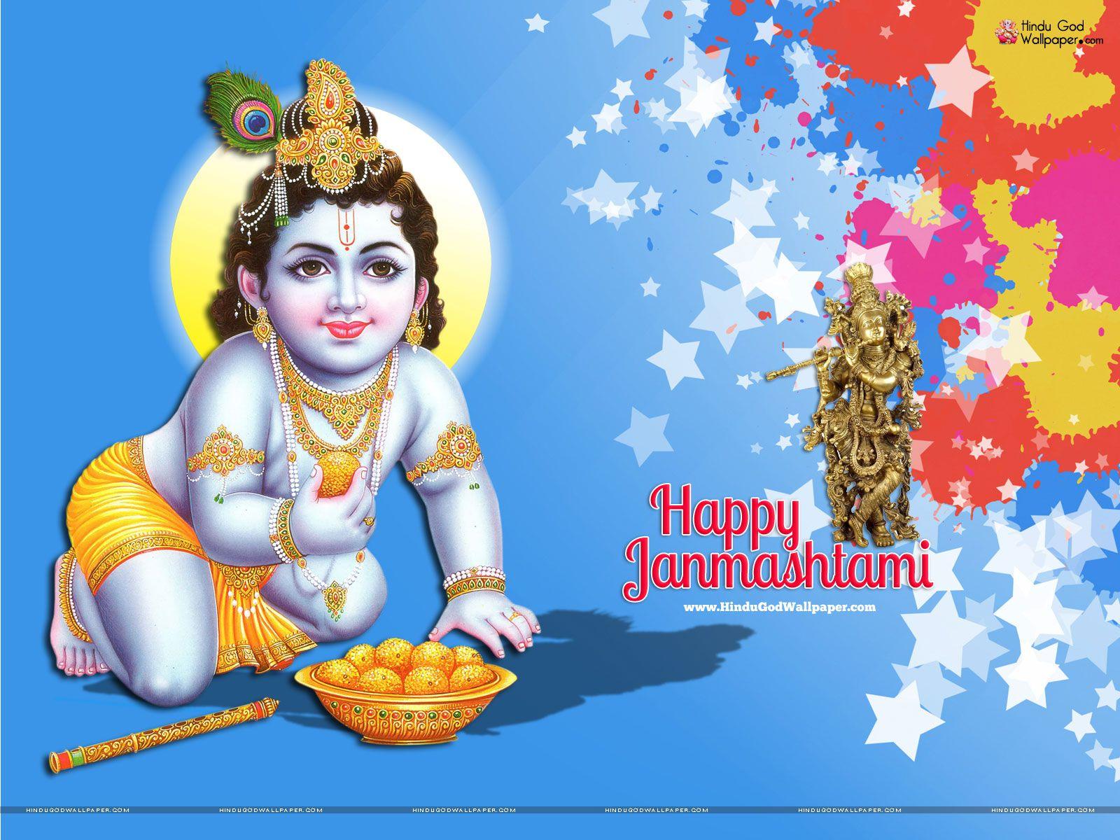 Wallpaper download janmashtami - Happy Janmashtami Wallpapers Images Free Download