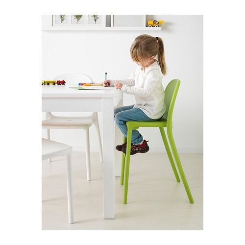 URBAN Junior chair IKEA Gives the right seat height for the child at the dining table. Easy to keep clean.  sc 1 st  Pinterest & URBAN Junior chair green | Our New Home | Pinterest | Ikea chairs ...