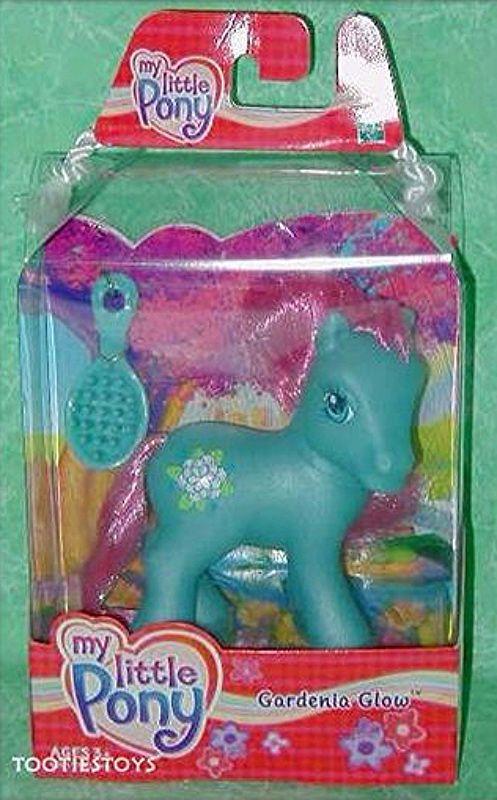 my little pony 2004 gardenia glow mib new hasbro  my