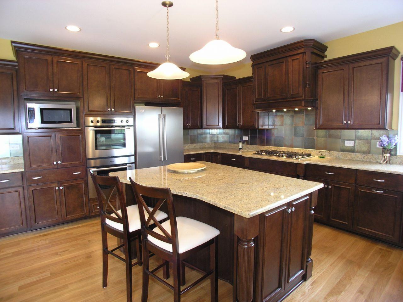 White Kitchen Countertops Dark Cabinets Granite Kashmir White Kitchen Dark Cabinets Stone Island Neutral