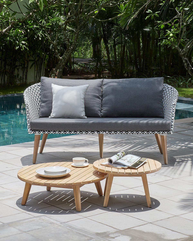 Dieses Tolle Gemusterte Sofa Ist Teil Unserer Portimao Lounggruppe Von Outliv Like Like Like Gartenmobel Outdoorli Aussenmobel Loungegruppe Mobeldesign