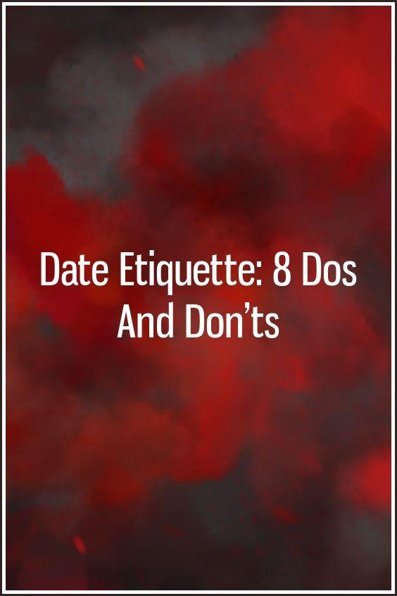 dating etikette do  s and Don  TS er vi offisielt dating streaming VOSTFR