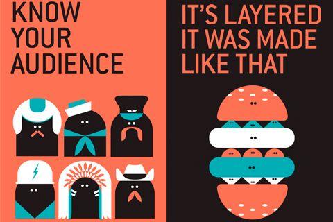 Les affiches s'animent avec Malika Favre