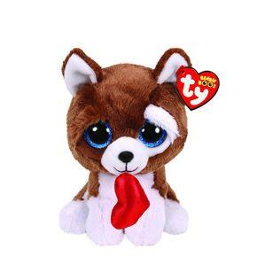 cd84a39f5b0 Ty Beanie Boo Small Smooches the Dog Plush Toy