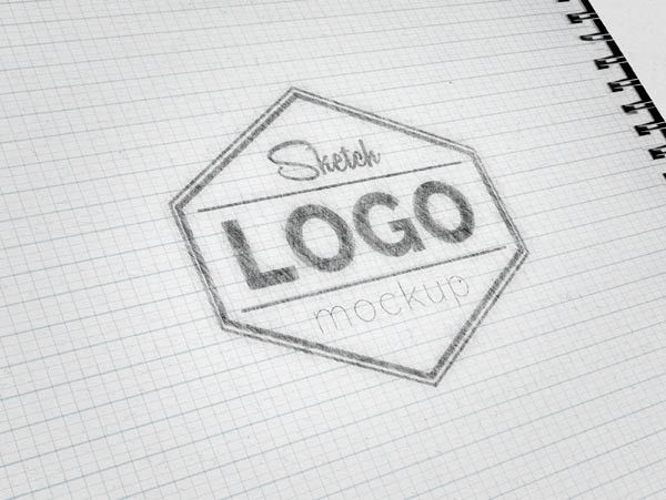 Sketch Logo Mockup Psd Logo Mockup Free Logo Mockup Psd Free Logo Mockup