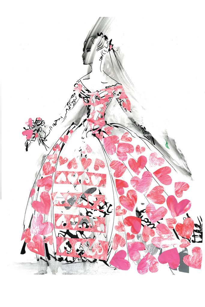 Take A Peek At Designer Sketches For Lady Gaga\'s Wedding - Breakfast ...