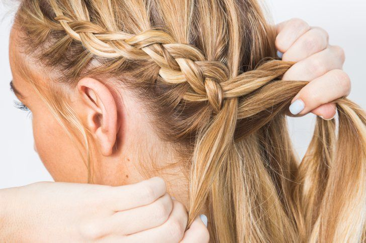 Pin for Later: This Part-Dutch, Part-Fishtail Tutorial Will Cause Major Braid Envy
