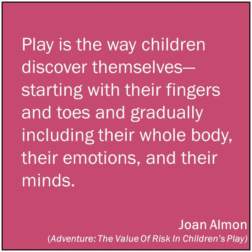 Childcare Quotes The Value Of Risk Playbased Learning  Pinterest  Play