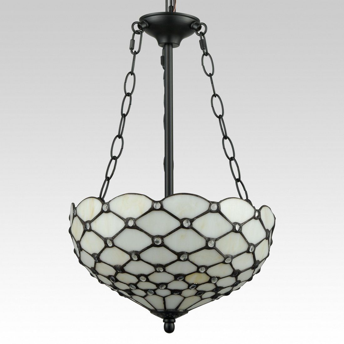 Eul Tiffany Style Pendant Light Fixtures Antique Brass And