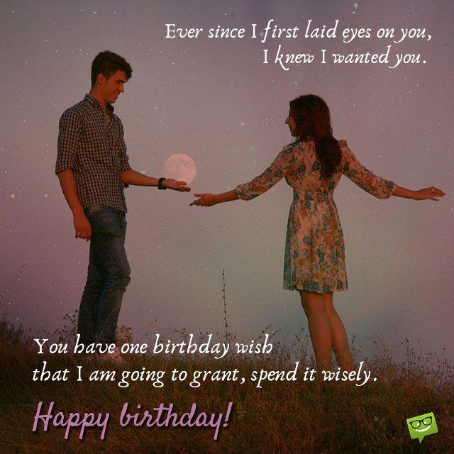 Smart Happy Birthday Wishes For Your Boyfriend First Birthday Wishes Birthday Wishes For Lover Birthday Wishes For Myself