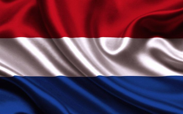 Download Wallpapers Dutch Flag Silk Flag Of Holland Flags Holland Flag Besthqwallpapers Com Netherlands Flag Dutch Flag Holland Flag