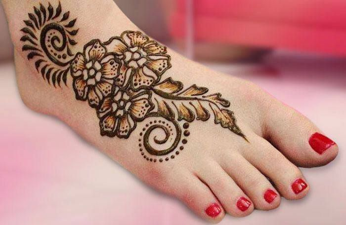 Mehndi Patterns For Legs : Mehandi designs for legs the perfect list a bride to be