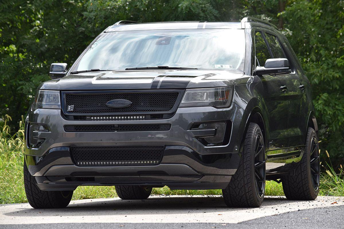 2016 black edition ford explorer