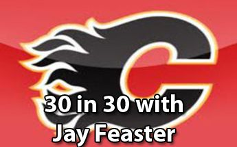 General Manager of the Calgary Flames Jay Feaster discusses with me the upcoming NHL season.