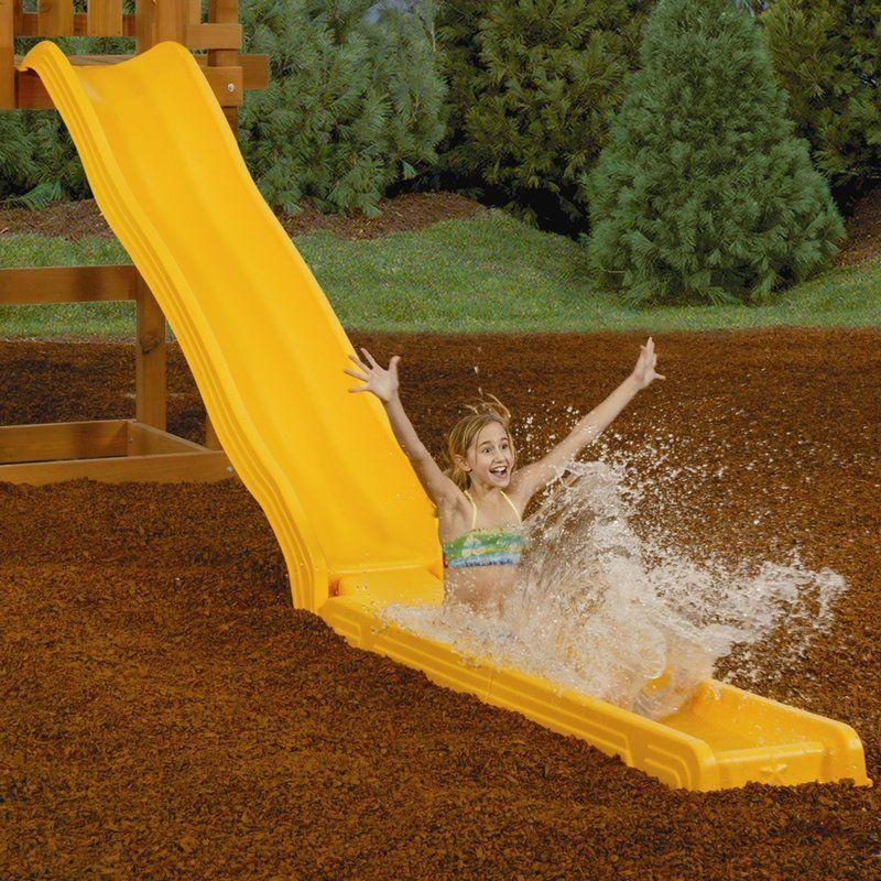 Playstar Water Straight Slide | Kids water slide, Swing ...