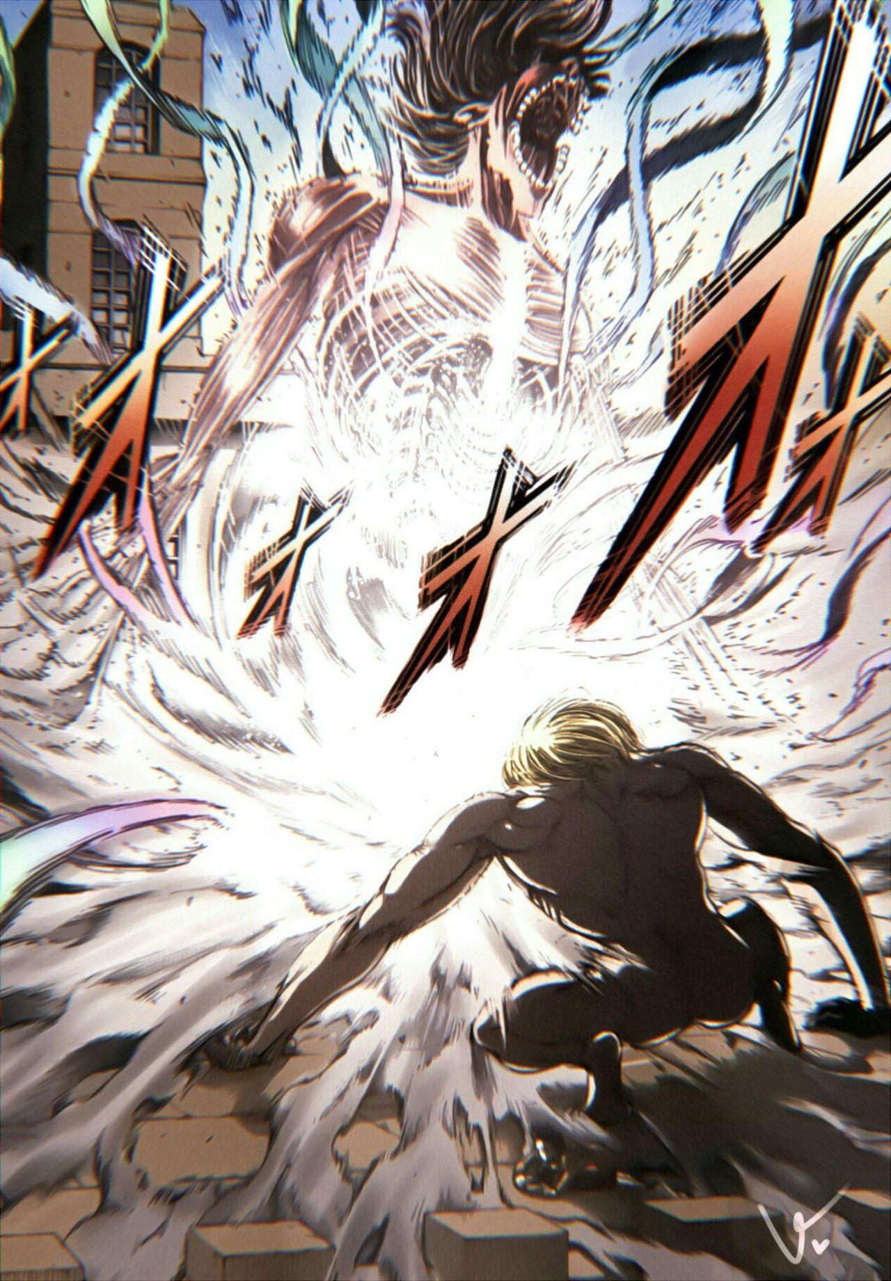 Attack on Titan Chapter 116 Attack on titan fanart
