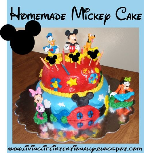 Mickey Mouse Clubhouse Birthday Party Ideas including decorations