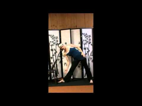 gentle standing/chair yoga  a short yoga sequence for