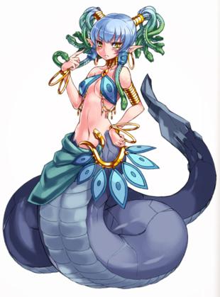 Medusa Monster Girl Encyclopedia Wiki Fandom Powered By Wikia