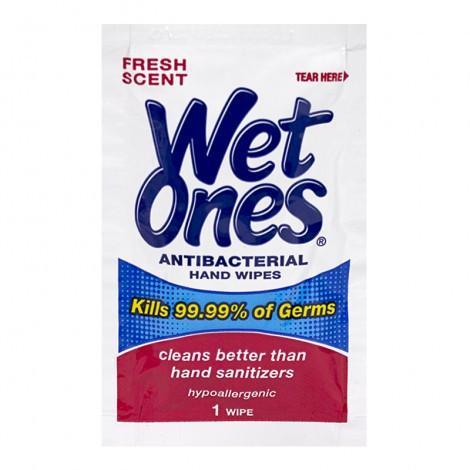 Wet Ones Antibacterial Single Wipes 1pk Antibacterial Wipes Wet