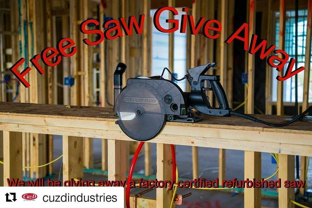 Repost @cuzdindustries (@get_repost) Free Saw Give Away As a Thank - job quotation sample