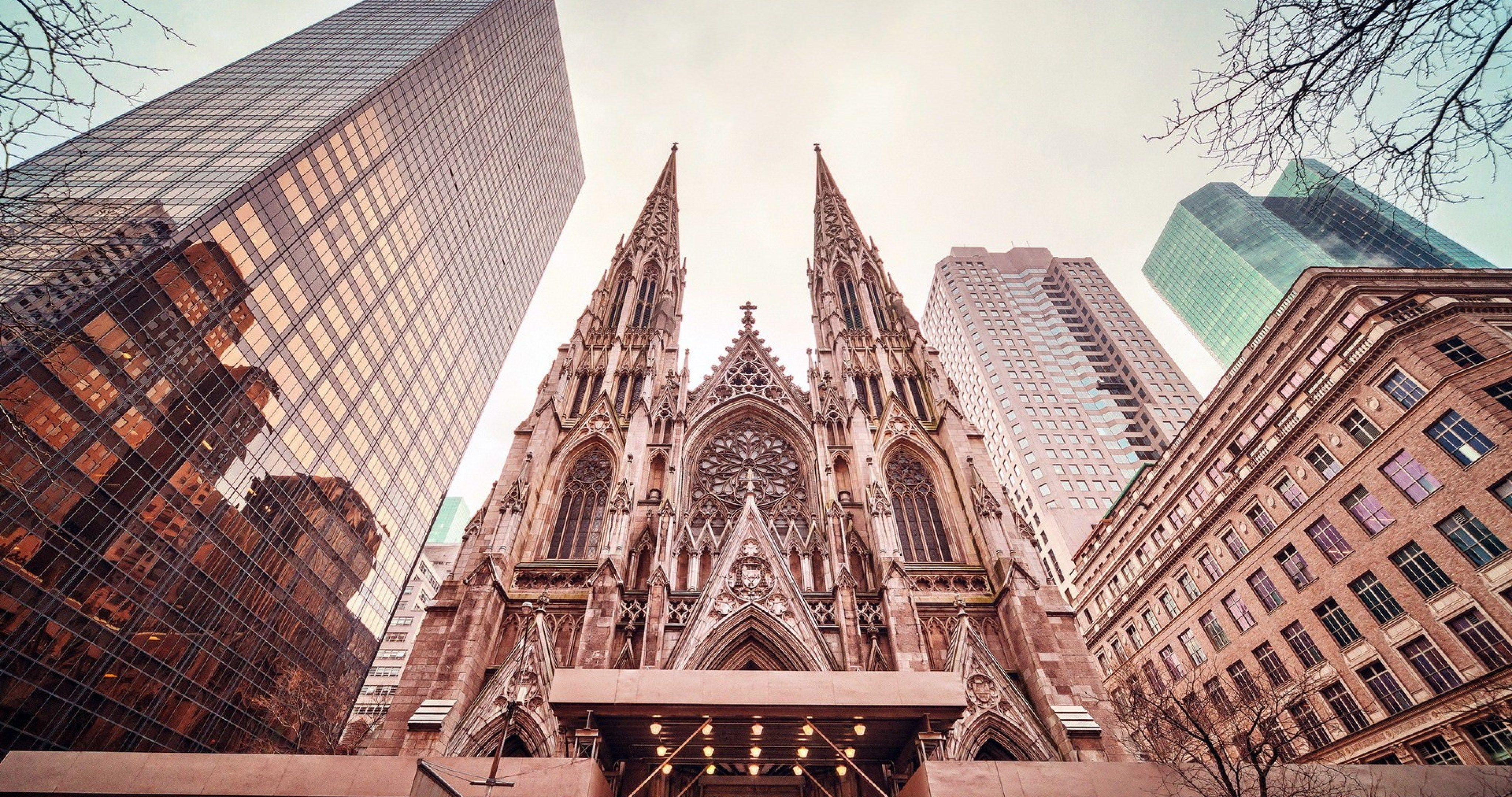 St Patricks Cathedral New York 4k Ultra Hd Wallpaper Cathedral