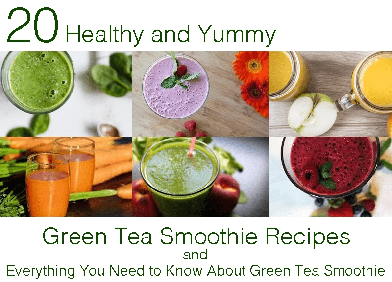 Photo of 20 Yummy and Healthy Green Tea Smoothie Recipes – and Everything You Need to Know About Green Tea Smoothie