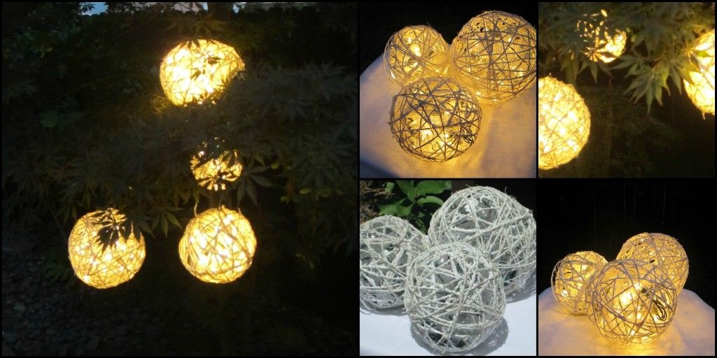 Decorative Light Balls Ready To Take Your Yarn Balls To The Next Level It's Simple Read