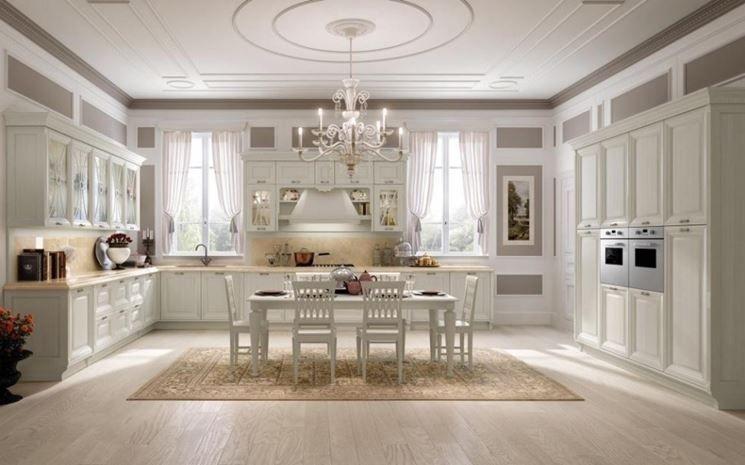 Cucina bianca classica | Casa | Pinterest | Cucina, Arredamento e Tende