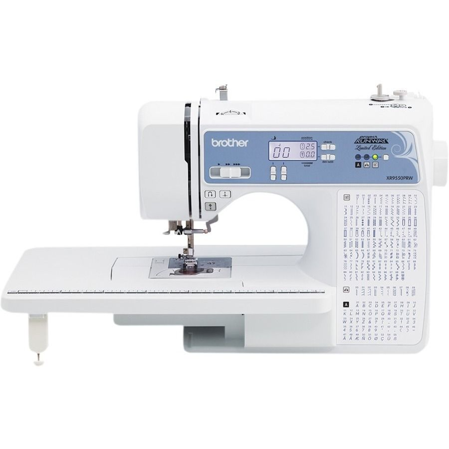 Brother Xr9550prw Project Runway Licensed Computerized Sewing And Quilting Machine With Hard Case Walmart Com Computerized Sewing Machine Quilting Sewing Machine Projects