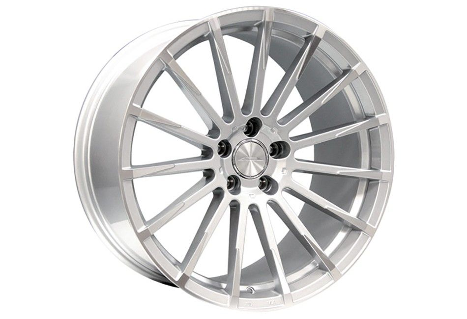 Ace Alloy Devotion Metallic Silver Machined Wheel 19x10 05 19 629 D718 Msm 1910 Fusion Metal Silver Ford Gt