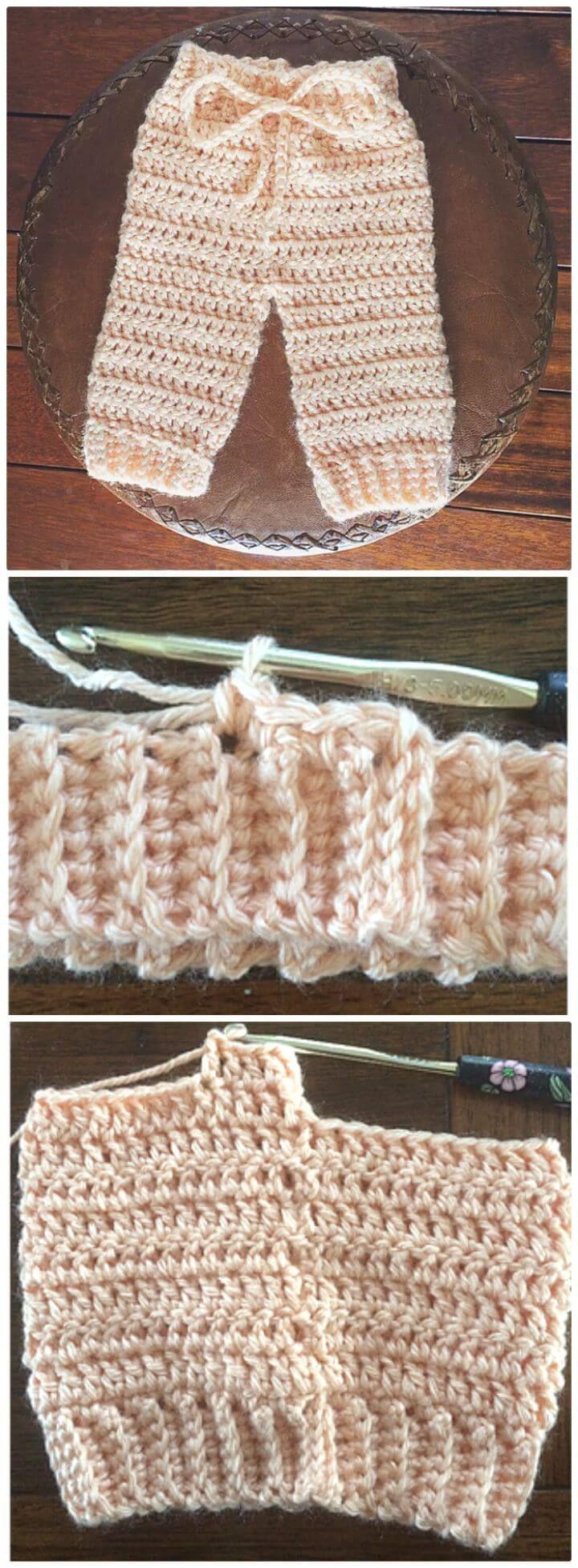 Crochet Baby Pants 9 Free Patterns Free Crochet Patterns