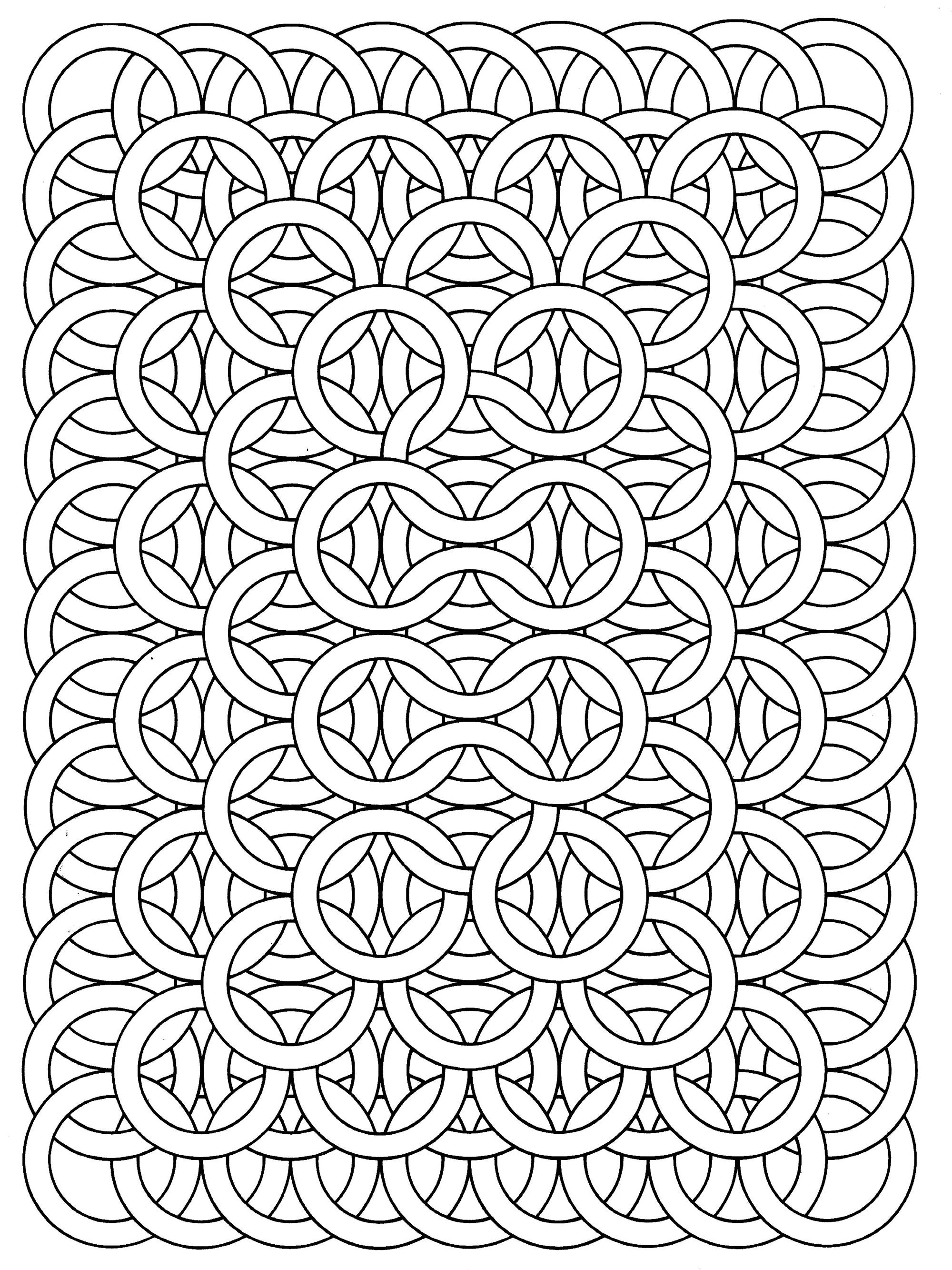 to print this free coloring page coloring op art jean larcher 17