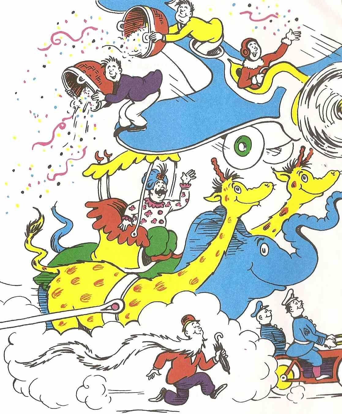 A Triple Scoop Of Seuss Dr Seuss Book Activities Dr Seuss Art