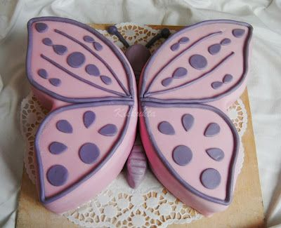 Pillango Torta Butterfly Birthday Cakes Butterfly Cakes 6th