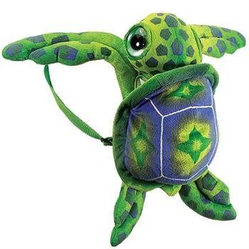 Plush Sea Turtle Backpack by Fiesta