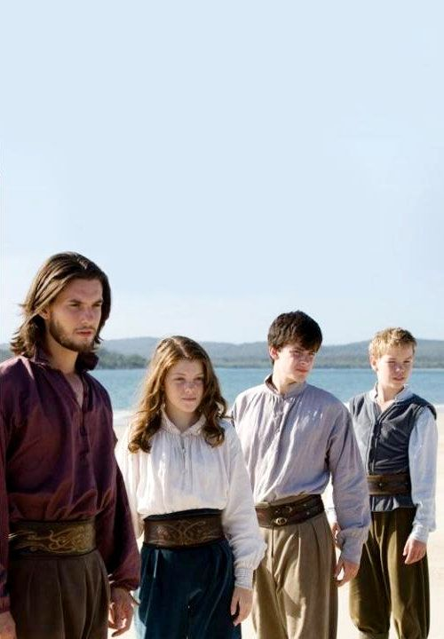 Caspian Lucy Edmund And Eustace Chronicles Of Narnia Narnia Narnia Movies