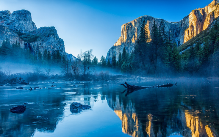 Yosemite National Park Usa Yosemite Valley California Landscape River Water Os X Reflection Mist Nature Yosemite Wallpaper Yosemite Valley Yosemite